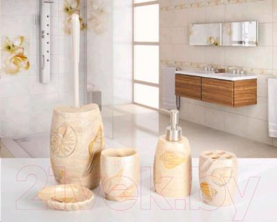 Дозатор жидкого мыла Tatkraft Margarita 11021 - набор для ванной комнаты Margarita