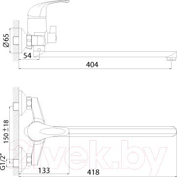 Смеситель Rossinka Silvermix C40-32