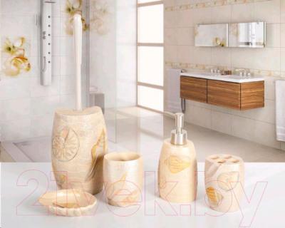 Стакан для зубных щеток Tatkraft Margarita 11038 - набор для ванной комнаты Margarita