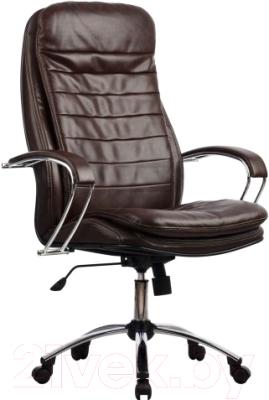 Кресло офисное Metta LK-3CH (коричневый)