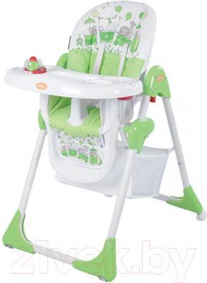 Стульчик для кормления Lorelli Yam-Yam Green Toy Train (10100171619)