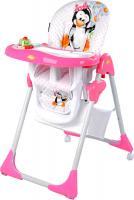 Стульчик для кормления Lorelli Yam-Yam Pink Penguin (10100171620) -
