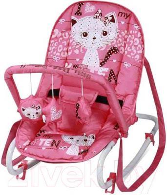 Детский шезлонг Lorelli Top Relax (Pink Kitten)