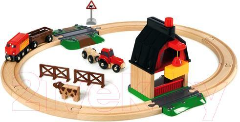 Железная дорога детская Brio