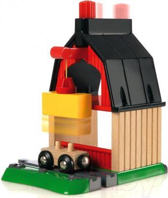Железная дорога детская Brio Farm Railway Set 33719