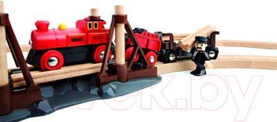 Железная дорога детская Brio Steam Engine Set 33030