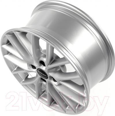 """Литой диск Borbet BS4 15x6.5"""" 4x100мм DIA 64.1мм ET 40мм (Brilliant Silver)"""