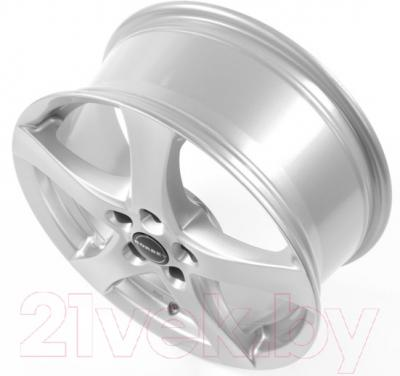 "Литой диск Borbet F 16x6.5"" 5x100мм DIA 57.06мм ET 38мм (Brilliant Silver)"