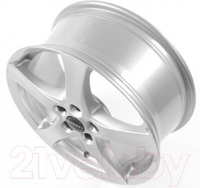 "Литой диск Borbet F 17x7"" 5x100мм DIA 57.06мм ET 35мм (Brilliant Silver)"