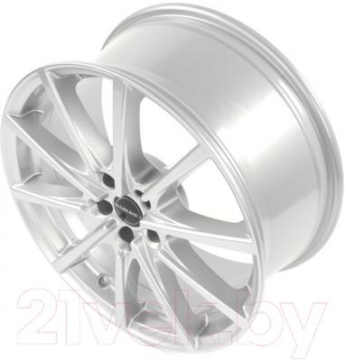 "Литой диск Borbet BL5 17x8"" 5x105мм DIA 56.62мм ET 35мм (Brilliant Silver)"