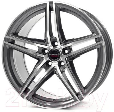 "Литой диск Borbet XRT 17x8"" 5x112мм DIA 72.5мм ET 40мм (Graphite Polished)"
