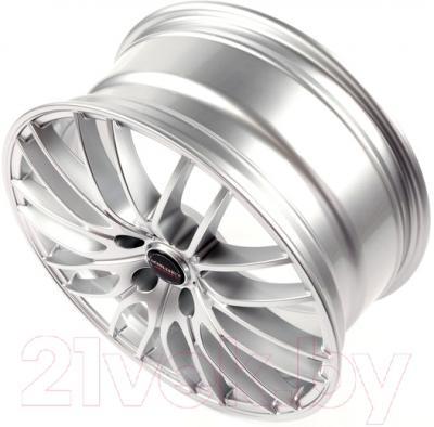 "Литой диск Borbet CW4 17x7"" 5x114.3мм DIA 72.5мм ET 40мм (Sterling Silver)"