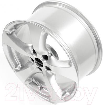 "Литой диск Borbet CC 17x8"" 5x120мм DIA 72.5мм ET 34мм (Crystal Silver)"