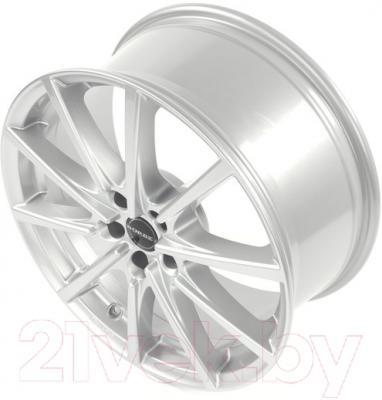 "Литой диск Borbet BL5 18x8"" 5x112мм DIA 72.5мм ET 35мм (Brilliant Silver)"