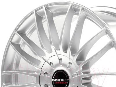 "Литой диск Borbet CW3 18x7.5"" 5x112мм DIA 66.6мм ET 48мм (Sterling Silver)"