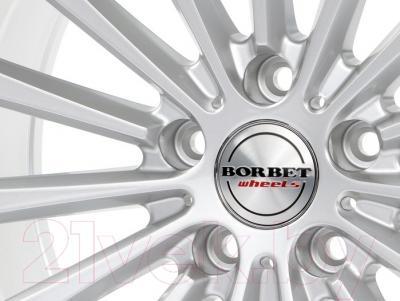 """Литой диск Borbet BLX 18x8.5"""" 5x114.3мм DIA 72.5мм ET 45мм (Brilliant Silver)"""