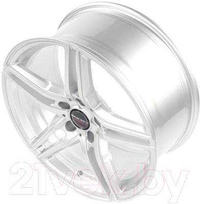 "Литой диск Borbet XRT 19x8.5"" 5x112мм DIA 66.5мм ET 21мм (Brilliant Silver)"