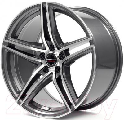 "Литой диск Borbet XRT 19x8.5"" 5x112мм DIA 72.5мм ET 40мм (Graphite Polished)"