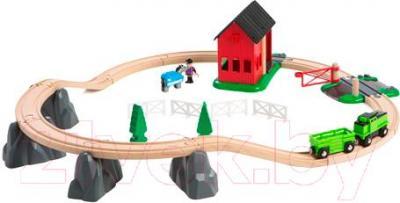 Железная дорога детская Brio Countryside Horse Set 33790