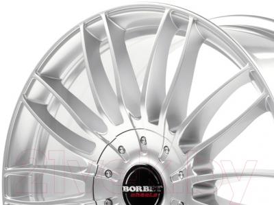 "Литой диск Borbet CW3 19x8.5"" 5x120мм DIA 74.1мм ET 45мм (Sterling Silver)"