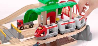Железная дорога детская Brio Railway Travel Set 33164