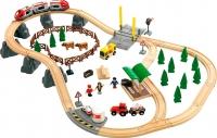 Железная дорога детская Brio Countryside Railway Set 33040 -