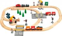 Железная дорога детская Brio Lift & load Railway Set 33165 -