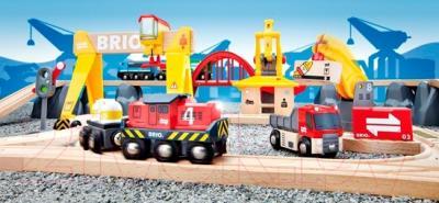 Железная дорога детская Brio Cargo Railway Deluxe Set 33097