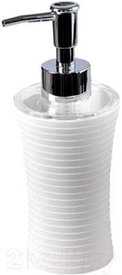 Дозатор жидкого мыла Tatkraft Bianco 12844