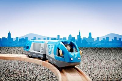 Элемент железной дороги Brio Поезд-экспресс с машинистом 33506