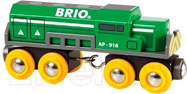 Элемент железной дороги Brio Грузовой локомотив 33693