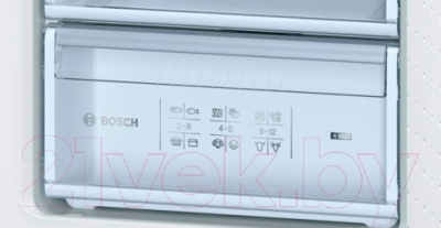 Холодильник с морозильником Bosch KGV36XK23R