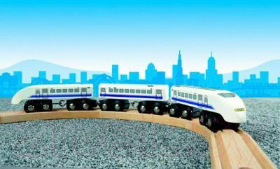 Элемент железной дороги Brio Пассажирский поезд-экспресс 33417