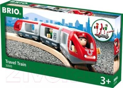 Элемент железной дороги Brio Пассажирский поезд-экспресс 33505