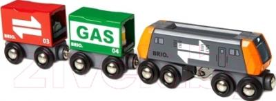 Элемент железной дороги Brio Товарный поезд 33259