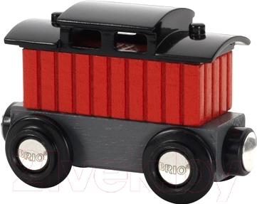 Элемент железной дороги Brio Тормозной вагон поезда 33737