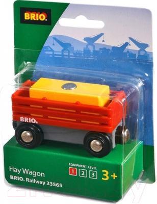 Элемент железной дороги Brio Вагон для сена 33565