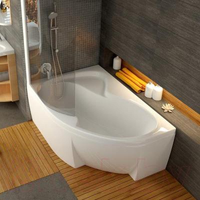 Ванна акриловая Ravak Rosa II 160x105 L (CM21000000) - в интерьере