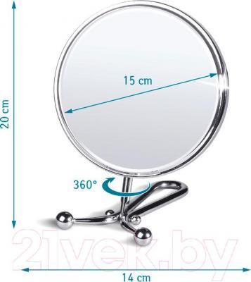 Зеркало косметическое Tatkraft Felicia 11304