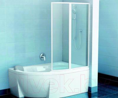 Ванна акриловая Ravak Rosa II 170x105 R (C421000000) - в интерьере