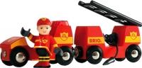 Элемент железной дороги Brio Пожарная машина 33576 -