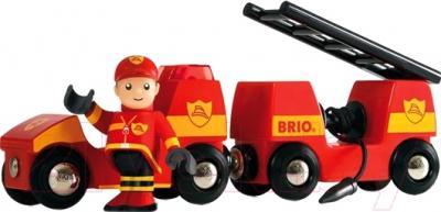 Элемент железной дороги Brio Пожарная машина 33576