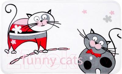 Коврик для ванной Tatkraft Funny Cats 14930