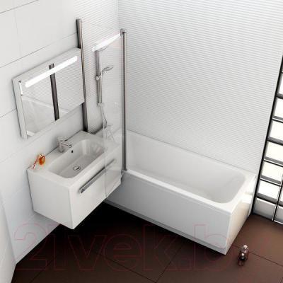 Ванна акриловая Ravak Chrome 160x70 (C731000000) - в интерьере