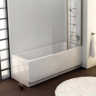 Экран для ванны Ravak Chrome 70 (CZ72110A00) - вместе с ванной