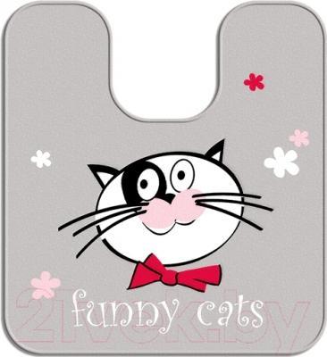 Коврик для туалета Tatkraft Funny Cats 18273
