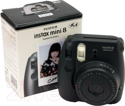 Фотоаппарат с мгновенной печатью Fujifilm Instax Mini 8 (черный)