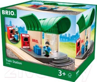 Элемент железной дороги Brio Железнодорожная станция 33745