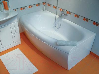 Экран для ванны Ravak Evolution 170 (CZ85000A00) - вместе с ванной