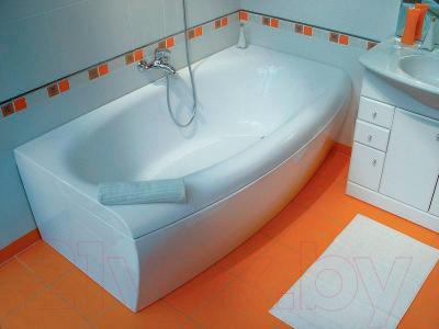 Экран для ванны Ravak Evolution 70 L (CZ85200A00) - вместе с ванной